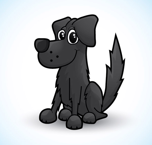 Cute Vector Dog